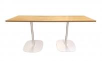 Tisch style 160x60 weiß/Eiche