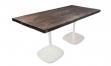 Tisch style 160x80 weiß/massivholz
