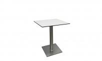 Tisch ATLANTA 60x60 weiß HPL