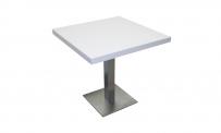 Tisch ATLANTA 80x80 weiß