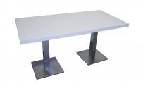 Tisch ATLANTA 160x80 weiß