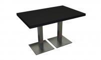 Tisch ATLANTA 120x80 schwarz