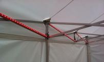 LED Beleuchtung MASTER für 3x3 m Zelt