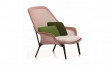 Sessel VITRA SLOW CHAIR rosa